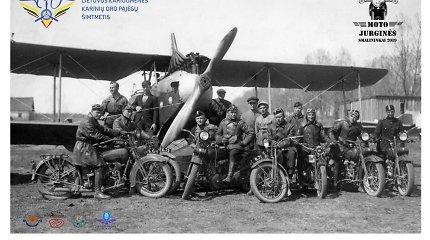 Smalininkuose – karinės aviacijos ir motociklų šventė