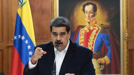 """N.Maduro: Venesueloje suimti dar trys su nepavykusiu """"įsiveržimu"""" siejami asmenys"""