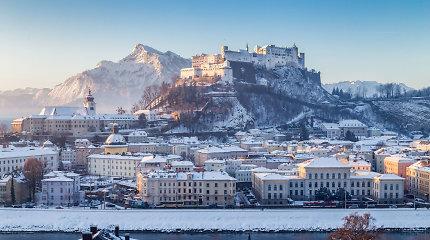 Zalcburgas žiemą