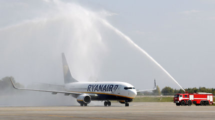 """""""Ryanair"""" pradėjo skrydžius į Ukrainą"""