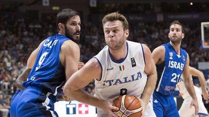 Smūgis Italijos rinktinei – pasaulio čempionatą praleis NBA žaidėjas