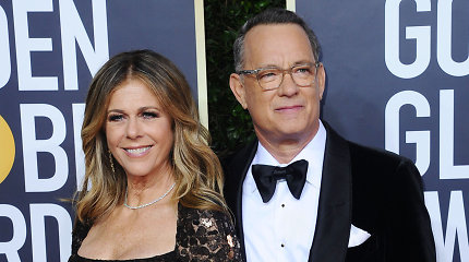 Australijoje nuo koronaviruso gydyti Tomas Hanksas ir Rita Wilson sugrįžo į JAV