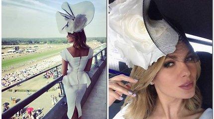 """Pirmą kartą Askoto žirgų lenktynėse dalyvavusi Asta Valentaitė: """"Buvau pastebėta"""""""