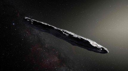 Pirmasis pastebėtas tarpžvaigždinis asteroidas – tikriausiai pasaulio pabaigos pėdsakas
