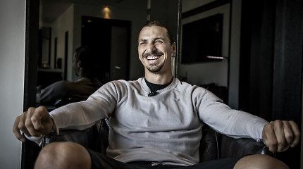 """Zlatano Ibrahimovičiaus """"hat-trick'as"""": trečias įsigytas namas kalnuose"""