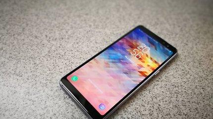 """""""Samsung Galaxy A8"""" apžvalga: kam skirtas šis telefonas?"""