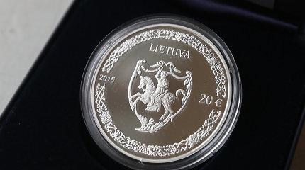 20 eurų kolekcinės sidabro monetos nebėra – visas tiražas iššluotas per dieną