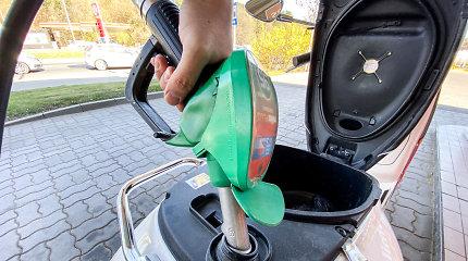 Benzinas ir dyzelinas gruodį brango Lietuvoje ir Latvijoje, pigo Estijoje