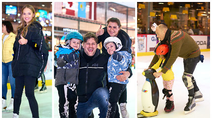 Gintarė Gurevičiūtė vaikų namų auklėtiniams surengė šventę ant ledo: susirinko ir žinomi žmonės