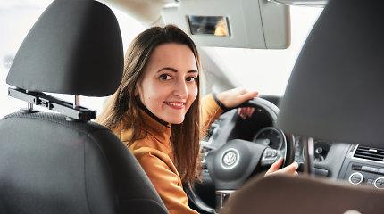 Vairavimo mokytoja Solveiga Dambrauskaitė-Bakutienė