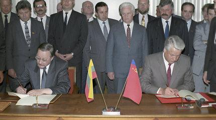 Milžiniškos svarbos 1991-ųjų sutartis su Rusija: Lietuvos kaimynės tokios neturi