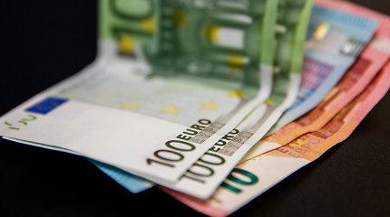 Valstybė ir savivaldybės šiemet gavo 72 mln. eurų neplanuotų pajamų