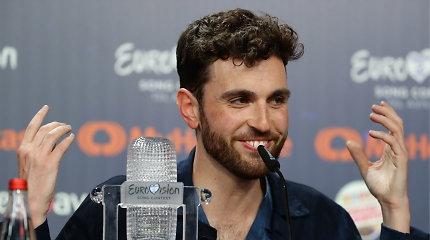"""Jo svajonė išsipildė! """"Eurovizijos"""" nugalėtojas iš Nyderlandų dėkojo LGBT už palaikymą"""