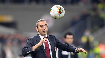 """Permainos Italijoje: """"AC Milan"""" atleido trenerį"""