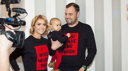 Indrei ir Jogailai Morkūnams gimė antras vaikas: sūnui jau išrinko vardą