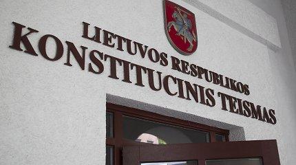 KT: įstatyme įtvirtintos platesnės teisėjų imuniteto ribos, nei numato Konstitucija