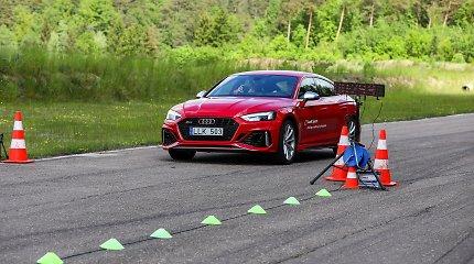 """Ar išlaikytumėte 450 AG """"Audi RS5"""" egzaminą?"""