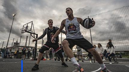 """Paaiškėjo pusė """"Red Bull Half Court"""" nacionalinių atrankų finalo dalyvių"""
