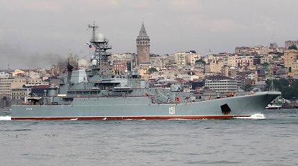 Kijevo ir Maskvos konfliktas keliasi į Azovo jūrą: Ukraina skaičiuoja ekonominius nuostolius