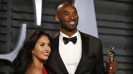 Kobe Bryantas – keturių dukrų tėtis: naujagimei suteikė NBA žvaigždės vardą