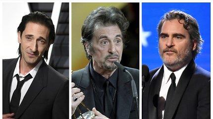 """Testas: ar pažinsite bent 12 iš šių 15-os visame pasaulyje garsių aktorių – """"Oskarų"""" laureatų?"""