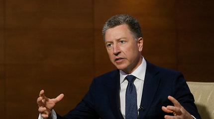 Paskelbtos žinutės su JAV diplomatų reakcija į D.Trumpo reikalavimus Ukrainai