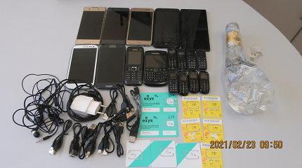 Telefonu ir alkoholio siunta Pravieniškių kalinių nepasiekė: viską pasiėmė prižiūrėtojai