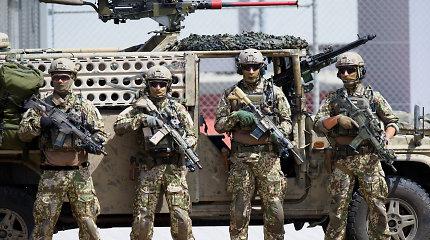 Daugelyje valstybių kariai laikomi herojais, bet Vokietija kovoja ir su grėsme – nerimą kelia dešinieji ekstremistai