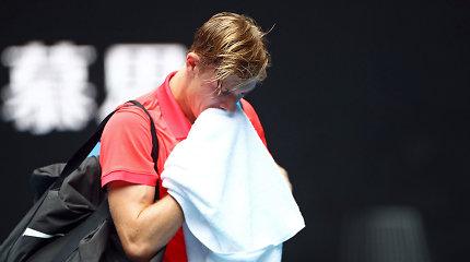 """Pirmoji """"Australian Open"""" sensacija – vengras išmetė Denisą Šapovalovą"""
