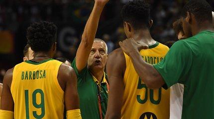 """Brazilijos trenerio triumfas: """"39-erių veteranas išspardė Gianniui užpakalį"""""""
