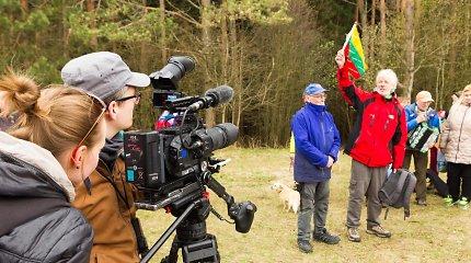 Filmavimo aikštelė kalnuose tampa dvigubu iššūkiu