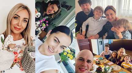 Žinomų Lietuvos žmonių Velykos: nuo jaukių akimirkų su šeima iki išskirtiniausių margučių