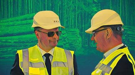 Vyriausybės kirvis darbuojasi medienos pramonės ir Dariaus Gudelio klientų labui