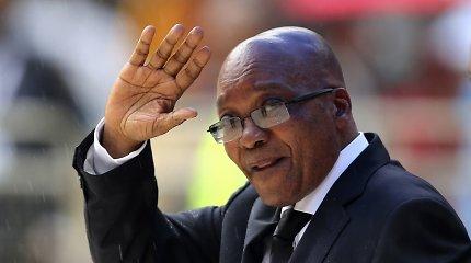 PAR eksprezidentas J.Zuma nebeliudys tyrime dėl valstybinės korupcijos