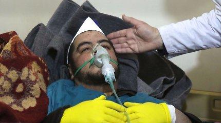 OPCW: Sirijos Dumoje per ataką 2018 metais buvo panaudotos chloro dujos