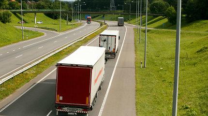 Dažniausia sunkvežimių problema – blogai šviečiantys žibintai