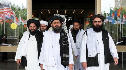 JAV pareigūnas atskleidė susitarimo su Talibanu detalių