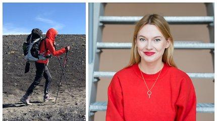 """Beata Tiškevič dalyvaus žygyje Liepojos pajūriu: """"Eiti pėsčiomis – dažniausia mano transporto priemonė"""""""