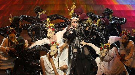"""Madonnos pasirodymas """"Eurovizijoje 2019"""" Tel Avive"""