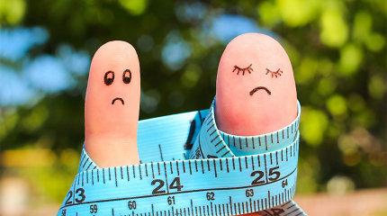 Mokslininkų atradimai: kodėl svorį mesti sekasi ne visiems vienodai