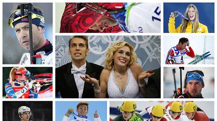 10 sniego ir ledo žvaigždžių, kurių trūks Pjongčango olimpinėse žaidynėse