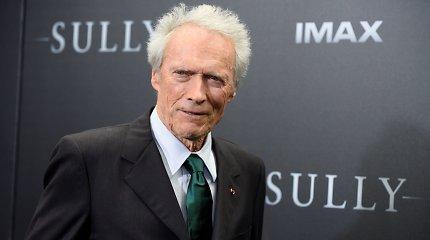 86 metų Holivudo veteranas Clintas Eastwoodas žada dar sugrįžti prie vaidybos