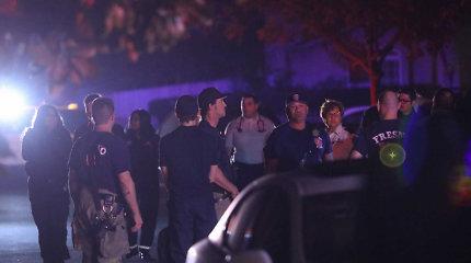 Kalifornijoje per vakarėlį namų kieme pašauta 10 žmonių, 4 mirė