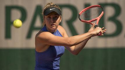 """Lėtai įsibėgėjusi Elina Svitolina iškovojo kelialapį į trečiąjį """"French Open"""" etapą"""