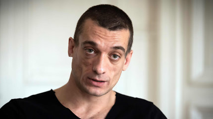 Paryžiuje suimtas rusas P.Pavlenskis, paviešinęs buvusio kandidato į Paryžiaus merus intymų įrašą