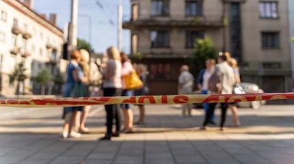 Dėl pranešimo apie sprogmenį iš Kauno apygardos teismo evakuoti darbuotojai