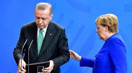 Kitą savaitę Stambule planuojamos R.T.Erdogano, A.Merkel ir E.Macrono derybos