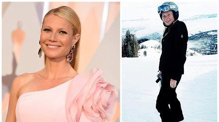 Aktorei Gwyneth Paltrow iškelta byla dėl 2016 metais kitam žmogui sukeltos traumos slidinėjant