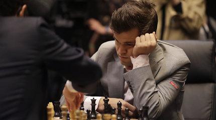 Dvyliktos lygiosios: mūšyje dėl pasaulio šachmatų karūnos prireiks papildomų akistatų