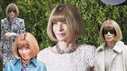 """""""Vogue"""" karalienei – 70: Annos Wintour draugai atskleidė kitą įtakingos mados personos pusę"""